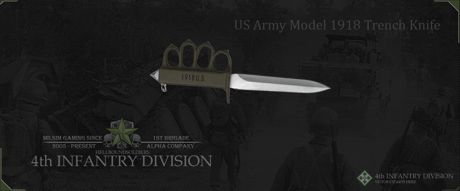 US Army Model 1918 Trench Knife